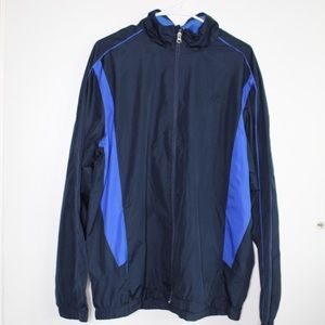 Blue Starter Full Zip Windbreaker Jacket